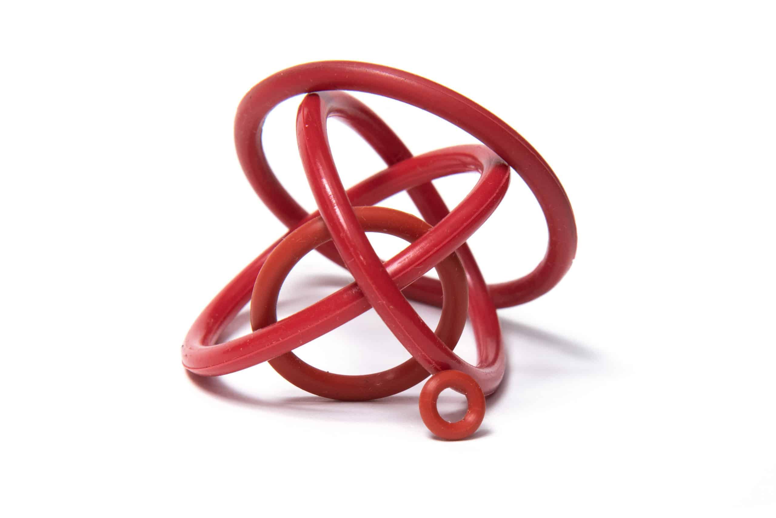 O型環組- 共六個O型環 (標準產品配壓力錶組用)